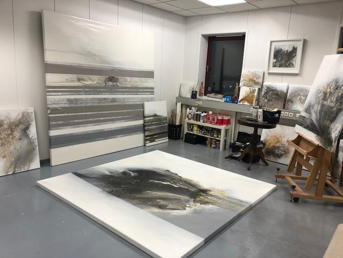 New studio at Héðinsgata