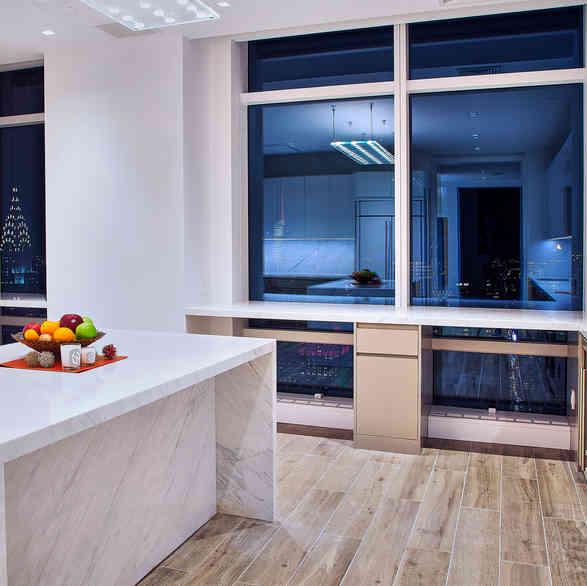 Custom Kitchen Cabinets in High Gloss II