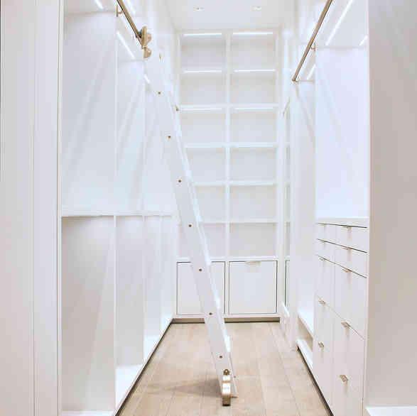 Custom Master Bedroom Closet (12ft heigh)