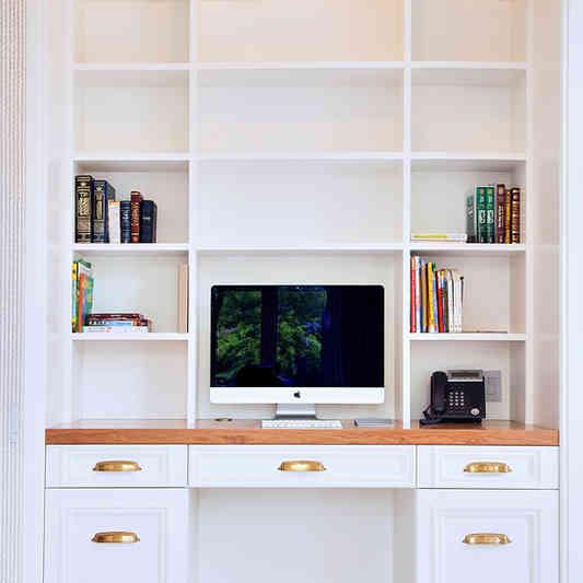 Custom Home Office Desk