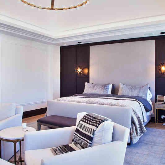 Custom Master Bedroom Wall 2