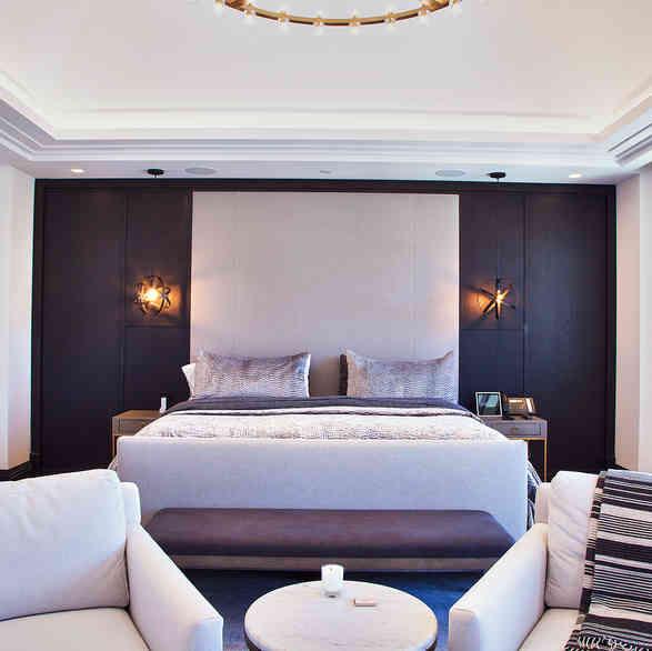 Custom Master Bedroom Wall