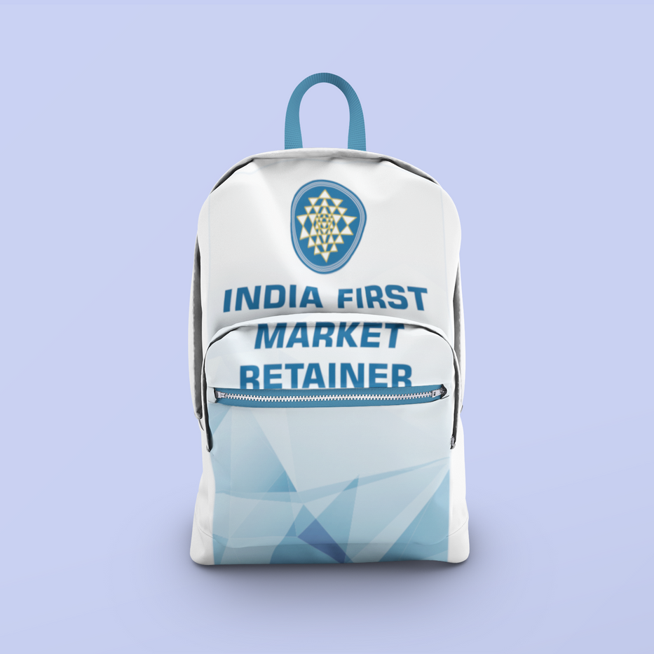 BACKPACK BAG WITH BRANDING