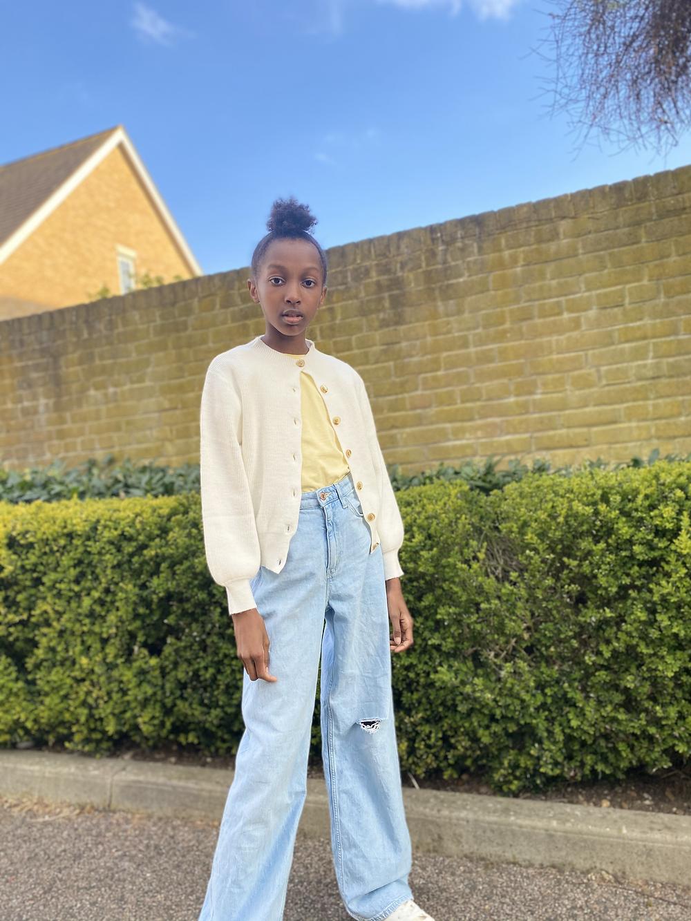 wide leg jeans, outfits maya glitters