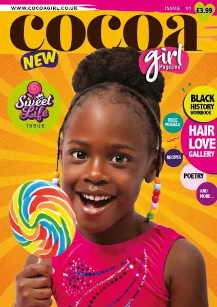 Cocoa Girl Magazine featuring amazing cover girl Faith