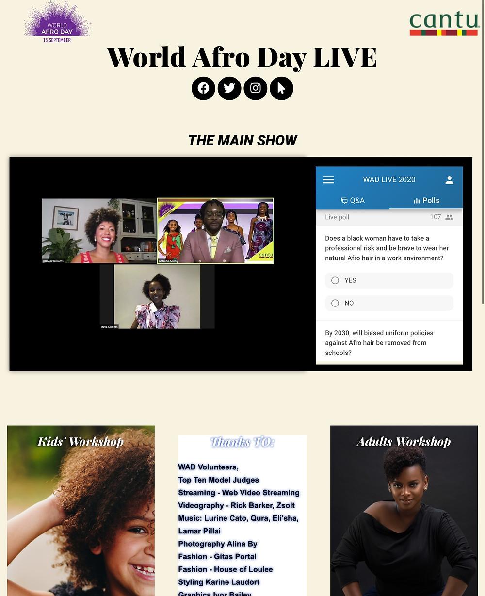 World Afro Day - Maya Glitters