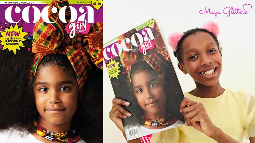Cocoa Girl Magazine Issue 2 - Maya Glitters