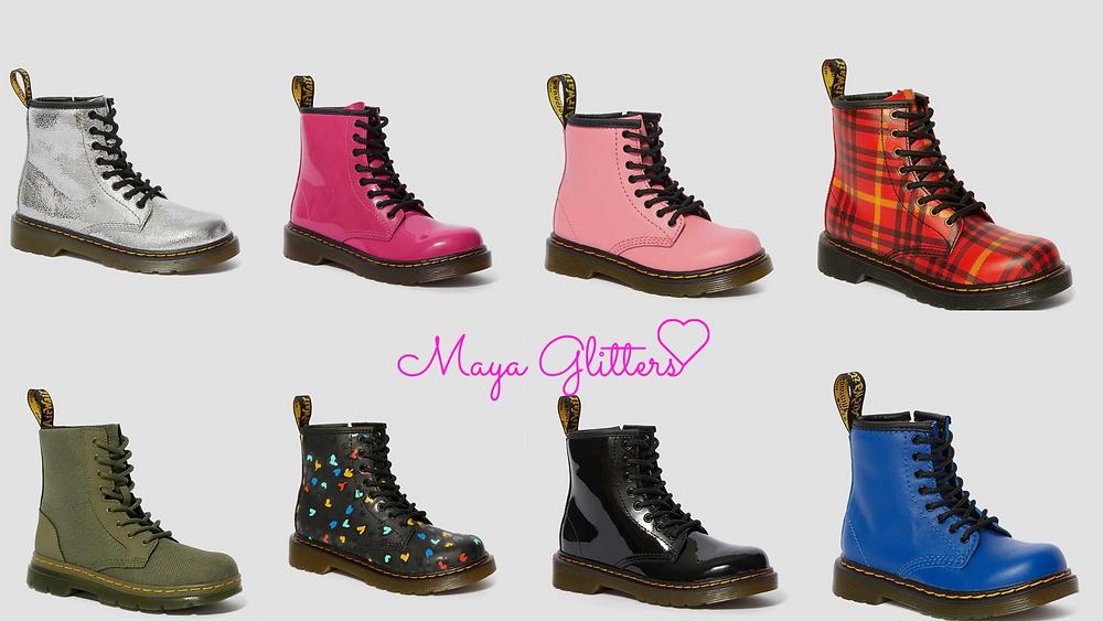 3 ways to style Dr Martens - Maya Glitters