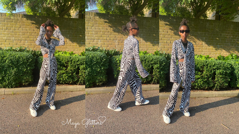 #OOTD - Zebra Print Outfit