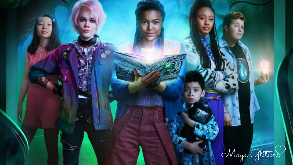 Maya Glitters A Babysitter's Guide To Monster Hunting