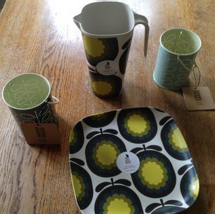 Orla Keily Bamboo items and Tea lights