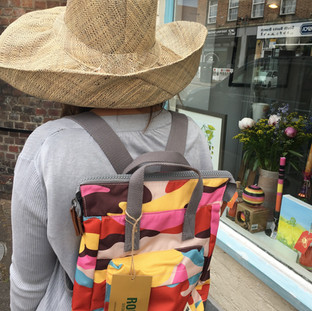 Roka Bag & Madaraff Hat