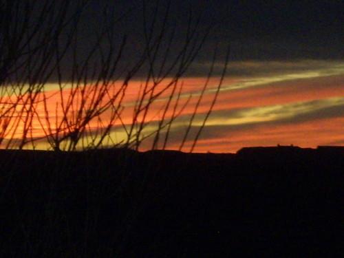 Sunset over Horrie