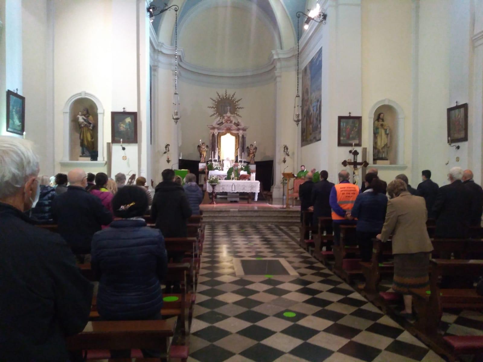 Monfalcone- Santa Messa per il centenari