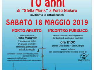 10 anni di Stella Maris a Porto Nogaro