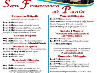 """Con San Francesco di Paola e i giovani della """"G.Scotti di Ischia"""" continua la """"Festa"""