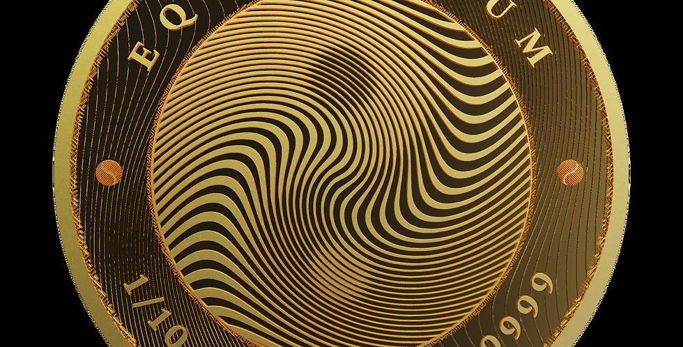 Equilibrium 2021 Proof-Like - 1/10oz 9999 Gold