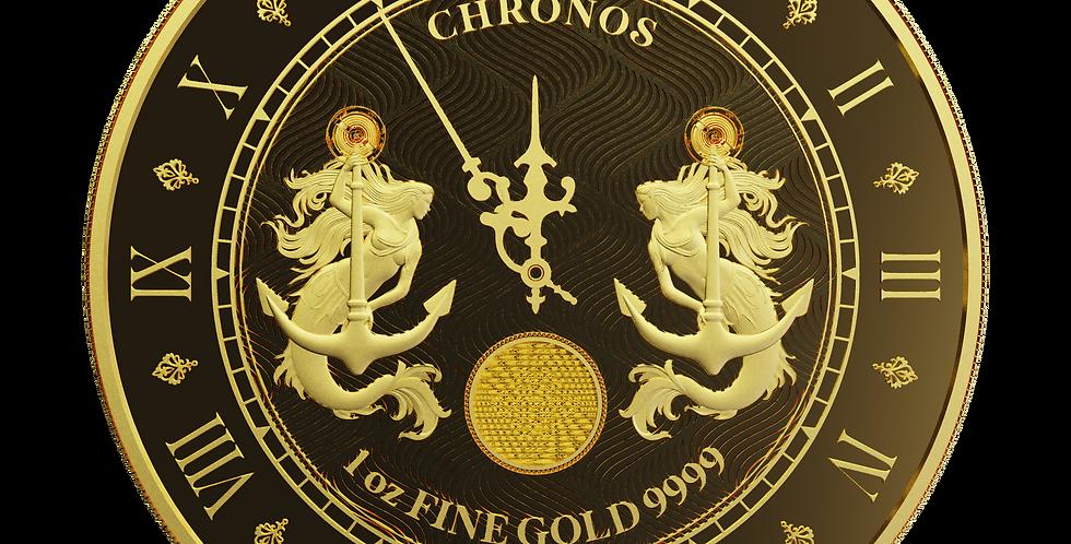 Chronos 2021 Proof-Like - 1oz 9999 Gold
