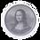 Thumbnail: ICON 2021 Mona Lisa - 1oz 9999 Silver