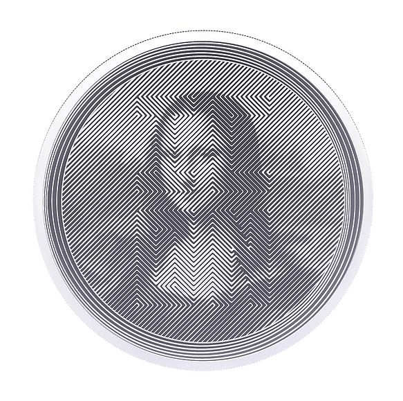 Icon 2021 Mona Lisa - 1oz 9999 Silver
