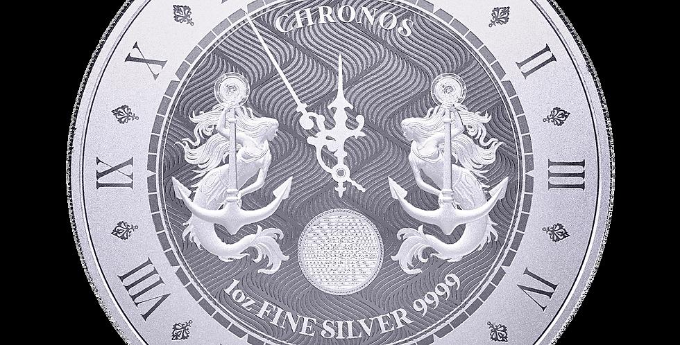 Chronos 2021 Bullion - 1oz 9999 Silver