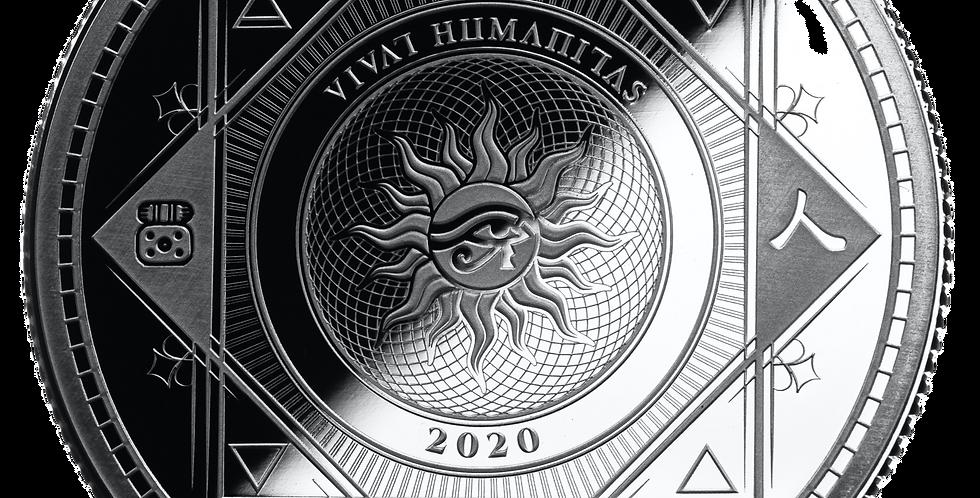 Vivat Humanitas 2020 - 1oz 999 Silver
