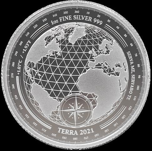 Terra 2021 Bullion - 1oz 999 Silver