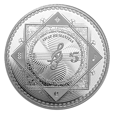 Vivat Humanitas 2021 Proof-Like - 1oz 999 Silver