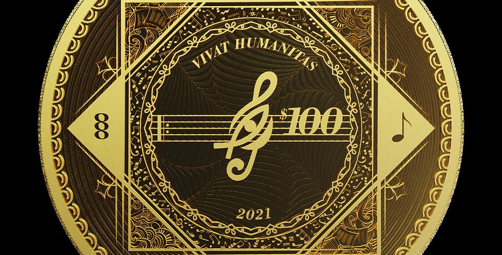 Vivat Humanitas 2021 Proof-Like - 1oz 9999 Gold