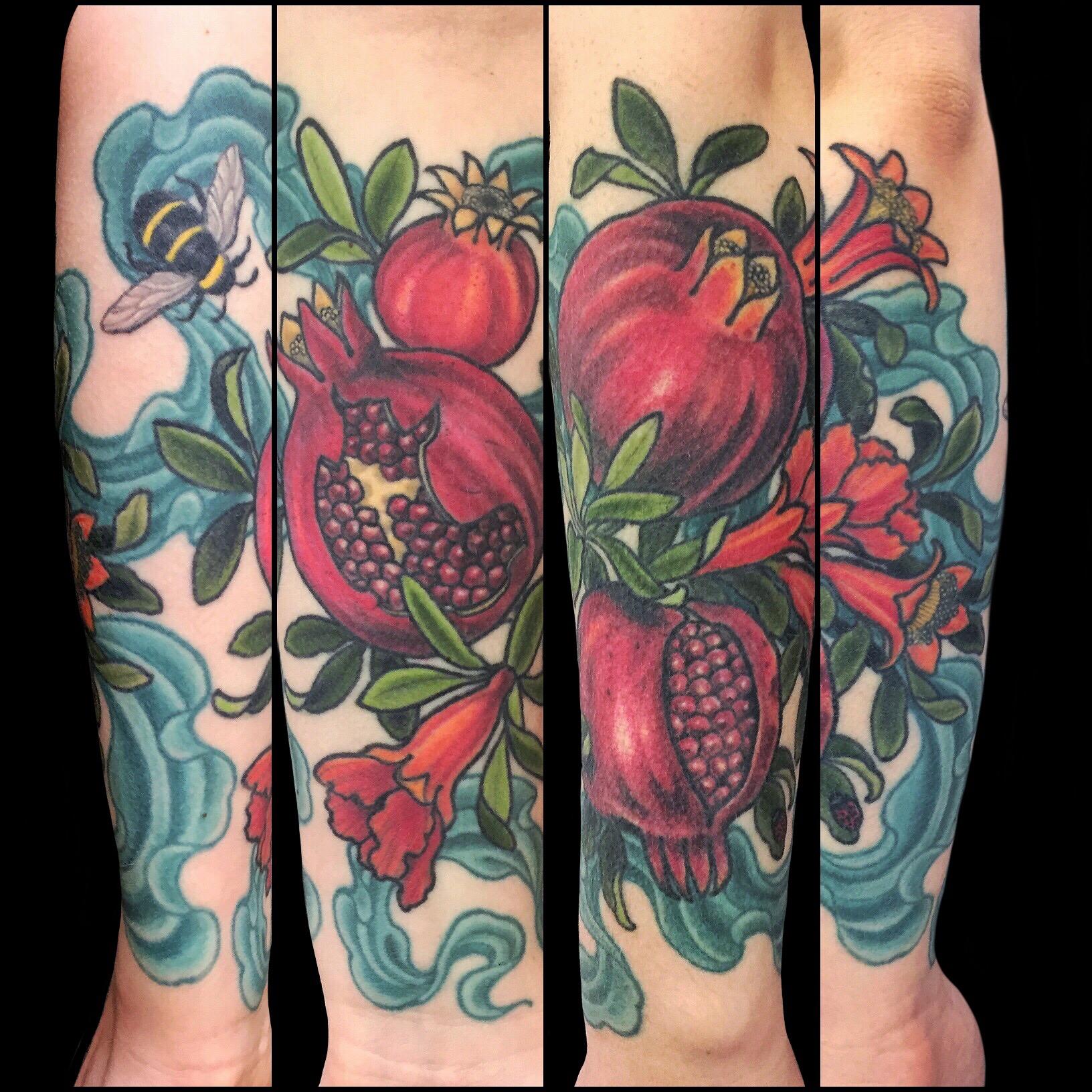 sequoia's pomegranates