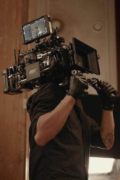 Yann De Moerloose shooting The Scent Of A Forrest on Alexa Mini