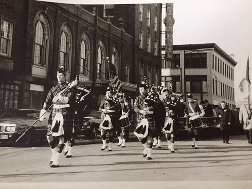One of our first Parades