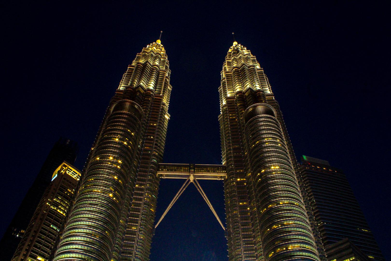 Les tour jumelle de Kuala Lumpur