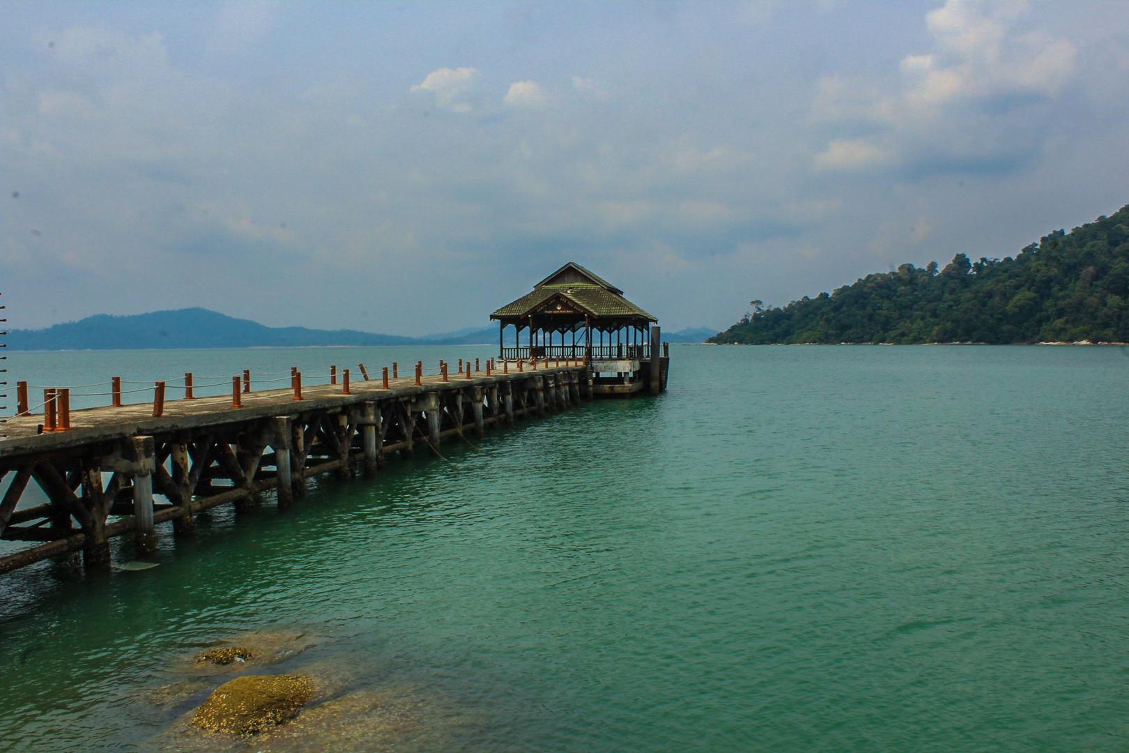 La paisible île de Pangkor en Malaisie