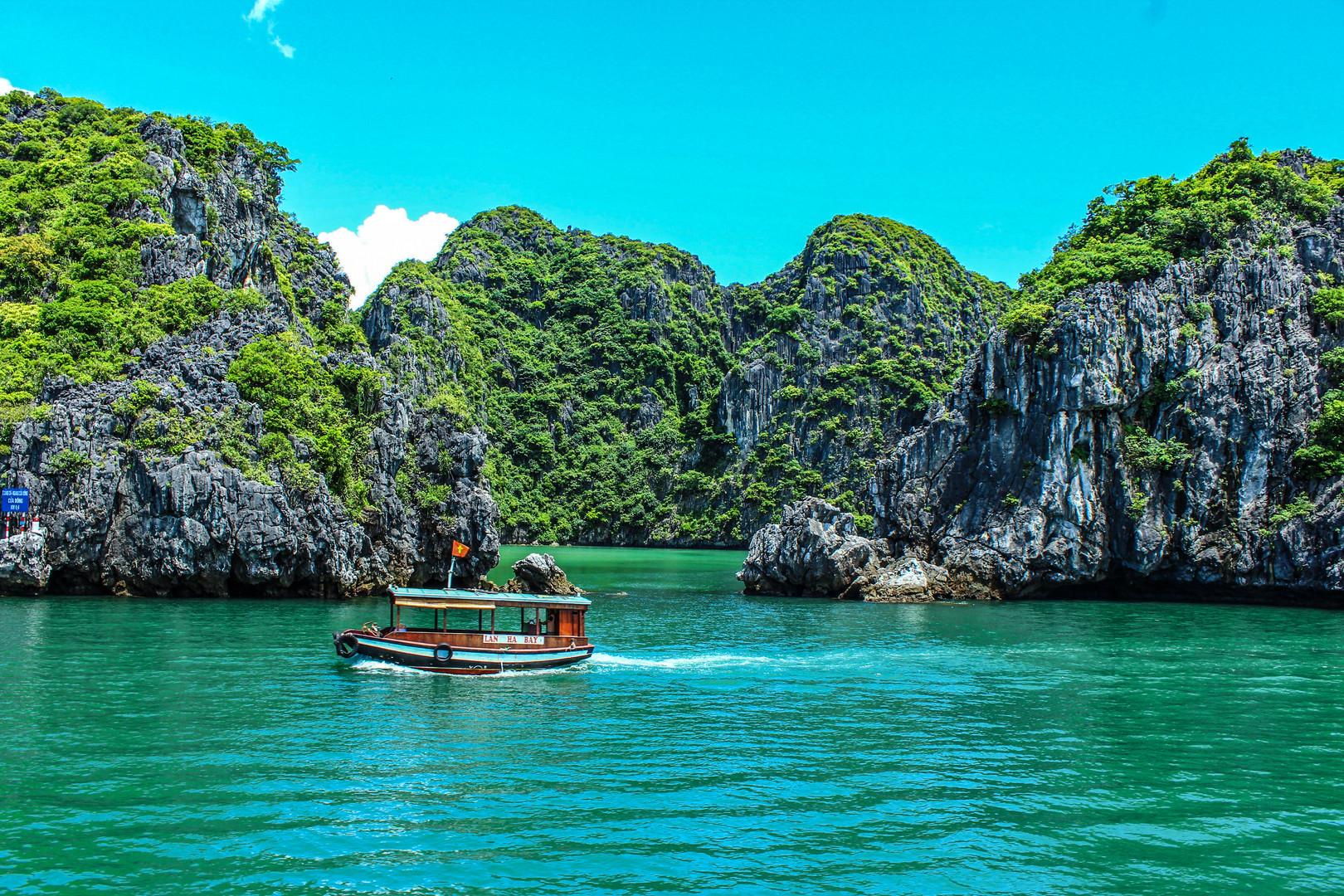 La fabuleuse baie d'Ha Long