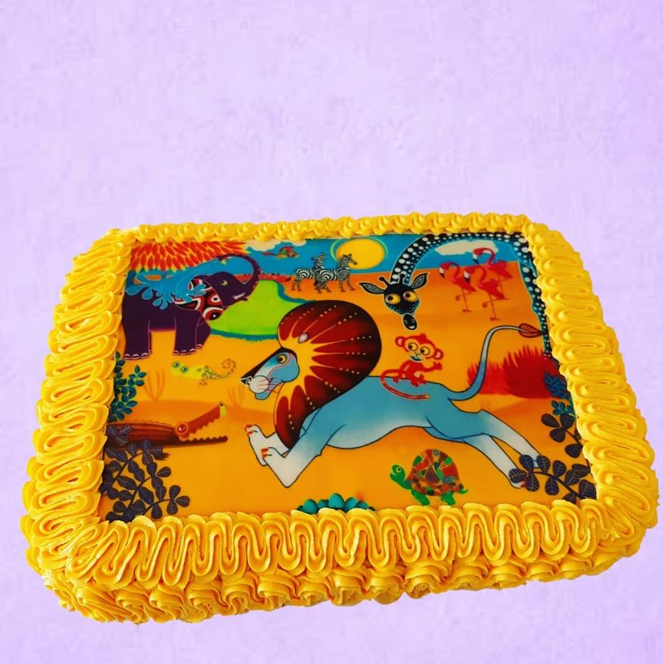 Tinga Tinga Cake