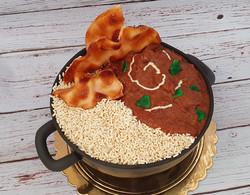 Butter Chicken Cake