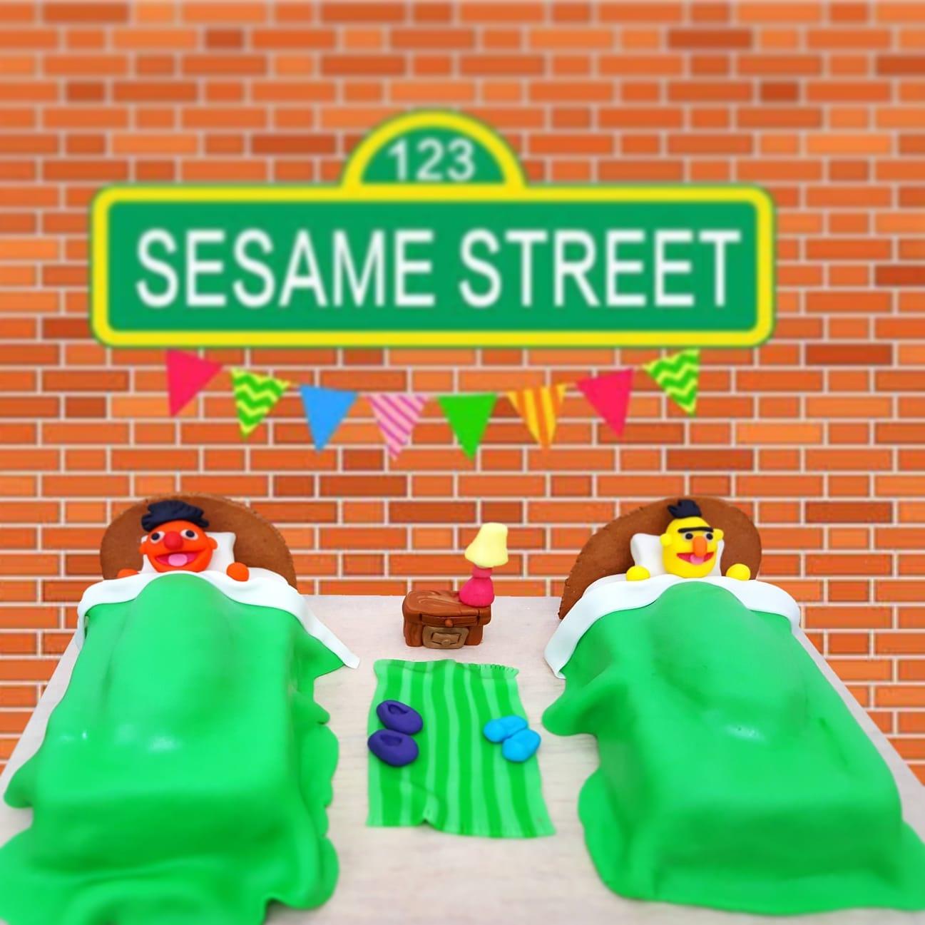 Sesame St Cake