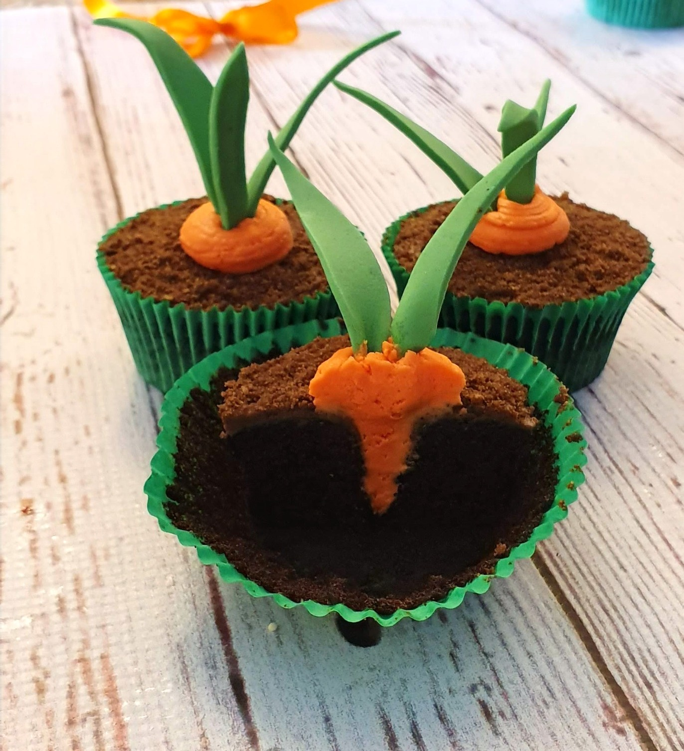 Carrot Surprise Cupcakes