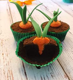 Carrot Surprise Cupcakes