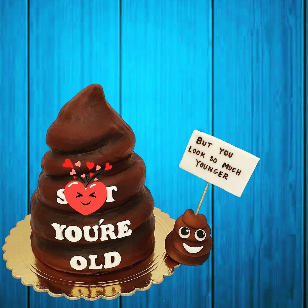 Poop Cake