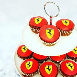 Ferrari Cupcake