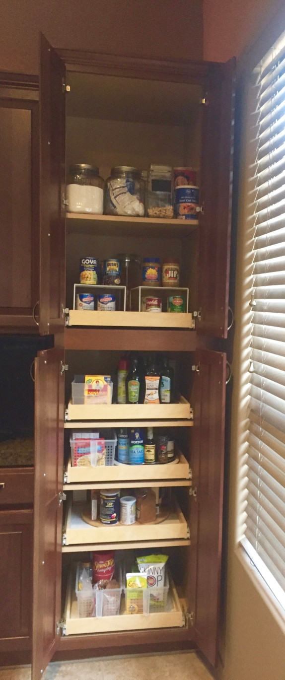 Roll-out shelves