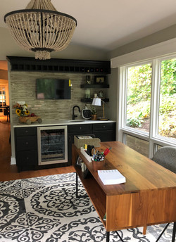 office and wet bar