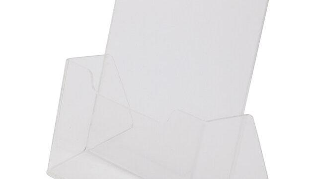 กล่องใส่โบรชัวร์ (22.5 x 13.5 x 29 ซม.) A4 JW A-400