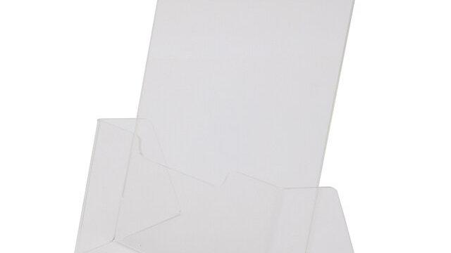 กล่องใส่โบรชัวร์ 16x11x19 ซม. A5 JW A-500