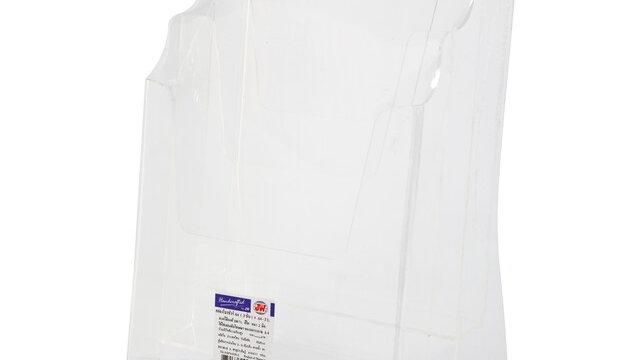 กล่องใส่โบรชัวร์ 3 ช่อง 22.5x16x34.5 ซม. JW A4-3L