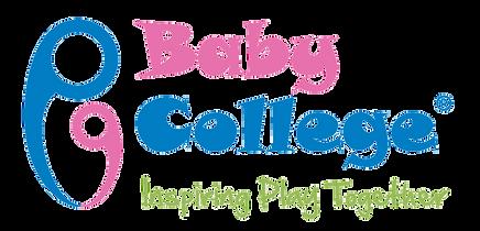 Baby College Logo Green Strapeline Trans