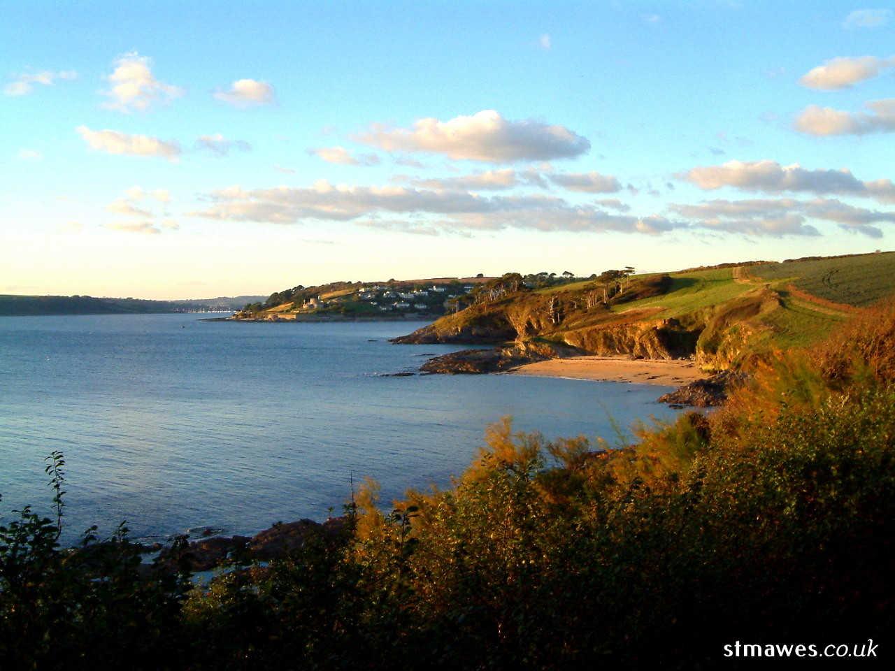 St Mawes coastline