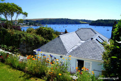Overlooking The Summer House and bay